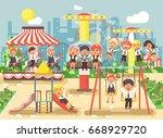 stock vector illustration of... | Shutterstock .eps vector #668929720