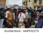 cotacachi  ecuador   june 24 ... | Shutterstock . vector #668932273
