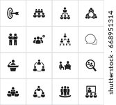 set of 16 editable business...