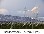 sunset before the solar... | Shutterstock . vector #669028498