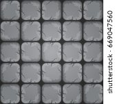 cartoon rocky seamless tile...
