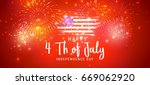 happy 4th of july usa...   Shutterstock .eps vector #669062920