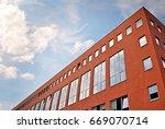 modern building.modern office... | Shutterstock . vector #669070714