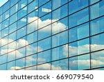 modern building.modern office... | Shutterstock . vector #669079540
