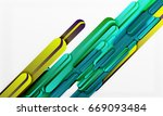 straight lines vector abstract... | Shutterstock .eps vector #669093484