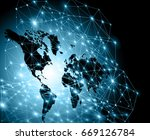 earth from space. best internet ... | Shutterstock . vector #669126784