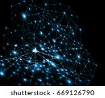 abstract background with... | Shutterstock . vector #669126790