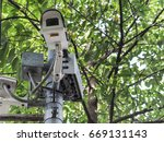 safety camera | Shutterstock . vector #669131143