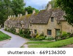 Bi Bury Village In Cotswold ...