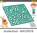 cartoon vector illustration of... | Shutterstock .eps vector #669139378