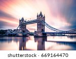 abstract moving clouds during... | Shutterstock . vector #669164470