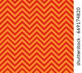 red and orange chevron pattern...   Shutterstock .eps vector #669174820