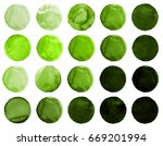 Watercolor Circles Collection...