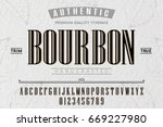 font.alphabet.script.typeface... | Shutterstock .eps vector #669227980