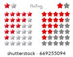 vector cartoon stars rating. 5...