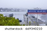 mystic seaport museum at mystic ... | Shutterstock . vector #669340210