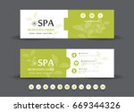 spa and health care banner... | Shutterstock .eps vector #669344326