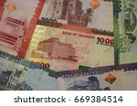 banknotes of tanzania of... | Shutterstock . vector #669384514