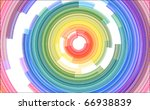 Abstract Spiral Color...