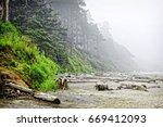The Rugged Oregon Coast At The...