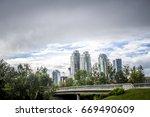calgary skyline   Shutterstock . vector #669490609