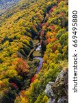 falls colors at porcupine... | Shutterstock . vector #669495880