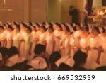 blurred image of nursing prayer   Shutterstock . vector #669532939