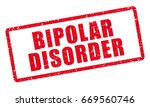 bipolar disorder diagnosis. red ... | Shutterstock .eps vector #669560746