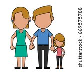 happy family united | Shutterstock .eps vector #669575788