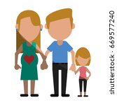 happy family united | Shutterstock .eps vector #669577240