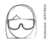 snorkel equipment icon | Shutterstock .eps vector #669578014
