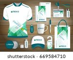 gift items business corporate... | Shutterstock .eps vector #669584710