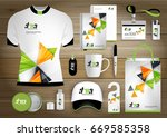 gift items business corporate... | Shutterstock .eps vector #669585358