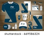 gift items business corporate... | Shutterstock .eps vector #669586324