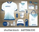 gift items business corporate... | Shutterstock .eps vector #669586330