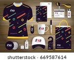 gift items business corporate... | Shutterstock .eps vector #669587614