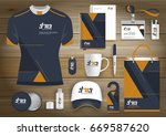 gift items business corporate... | Shutterstock .eps vector #669587620