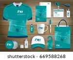 gift items business corporate... | Shutterstock .eps vector #669588268