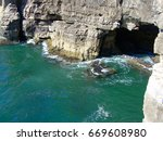 Sea Cave Called Hell Mouth  ...