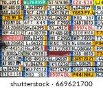 odessa  ukraine   circa 2017 ... | Shutterstock . vector #669621700