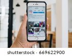 chiangmai  thailand   july 1 ... | Shutterstock . vector #669622900