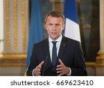 paris  france   jun 26  2017 ... | Shutterstock . vector #669623410