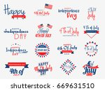 4th of july independence day... | Shutterstock .eps vector #669631510
