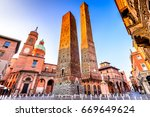 Bologna  Italy   Two Towers ...