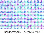color abstract mixed pattern... | Shutterstock .eps vector #669689740