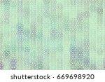conceptual geometrical... | Shutterstock .eps vector #669698920