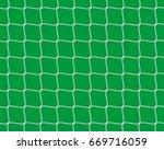 football goal net texture... | Shutterstock .eps vector #669716059
