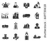 oil. petroleum industry....   Shutterstock .eps vector #669730618