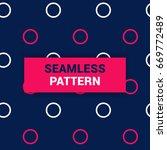 seamless pattern design of...   Shutterstock .eps vector #669772489