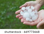 Hail In The Palm